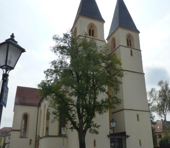 Stiftsbasilika St. Vitus und St. Deocar in Herrieden (Bayern)
