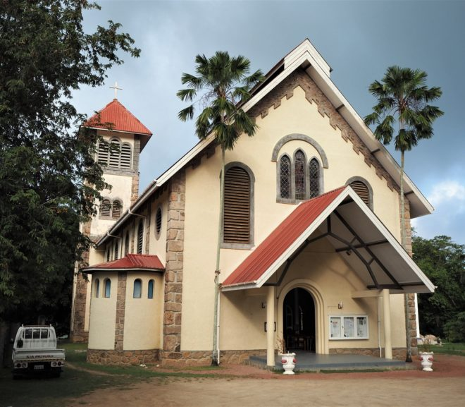 Église de Sainte Anne / Church of St. Anne Praslin (Seychellen)