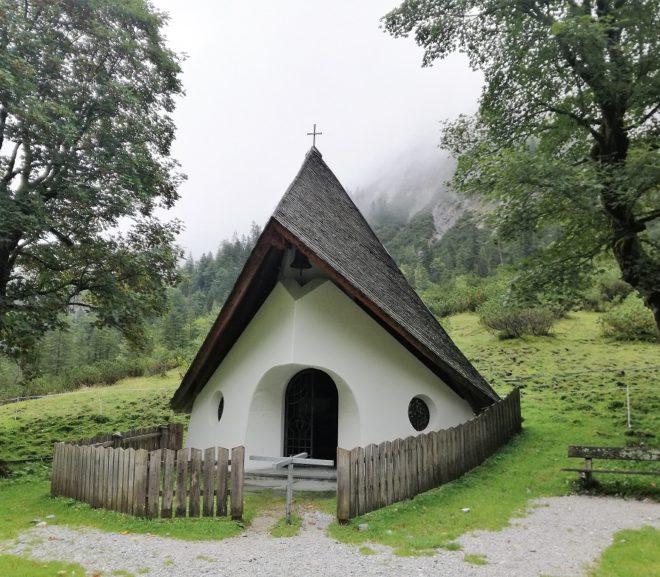 Kapelle auf der Gramai Alm