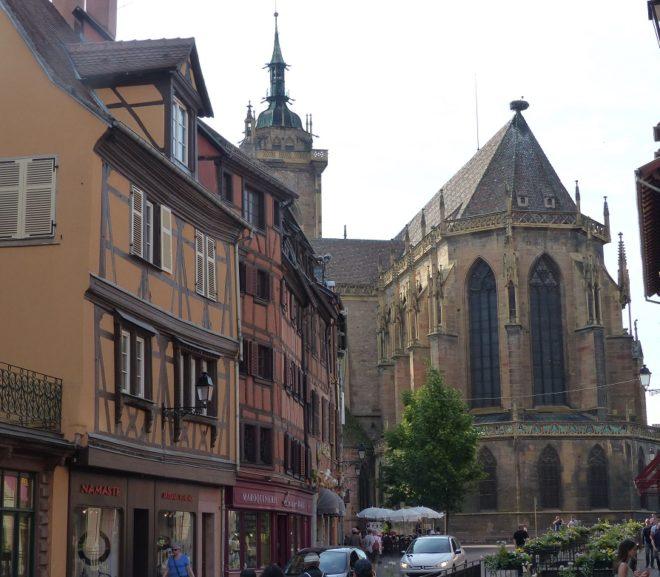 Stiftskirche St. Martin in Colmar (Frankreich)