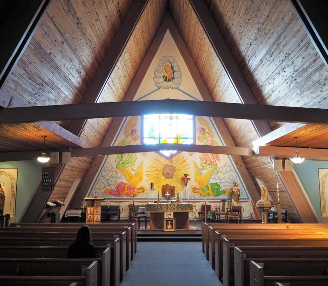 Saint Joseph Church in Williams (Arizona, USA)